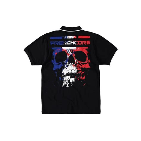 Kaos Polo Skull Terror Seven frenchcore polo crushed skull 918018050 polo rigeshop