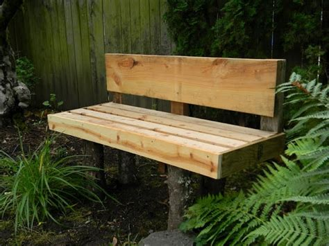 easy outdoor bench easy outdoor bench diy projects pinterest
