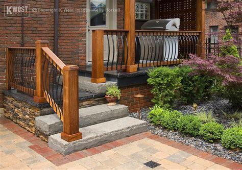 Garden Banister by Custom Porch Landscape Toronto By K