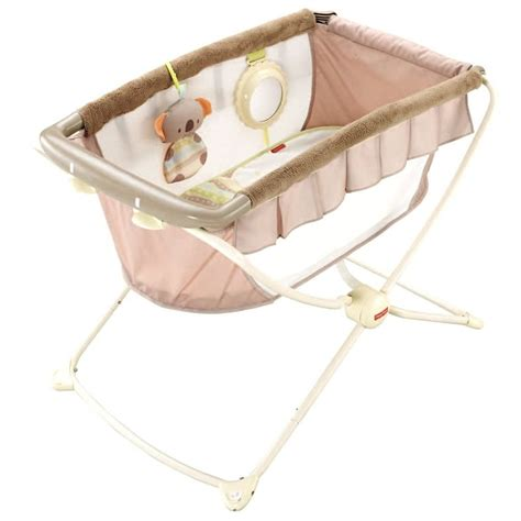Bassinet And Crib by Fisher Price Deluxe Rock N And Play Koala Portable Travel