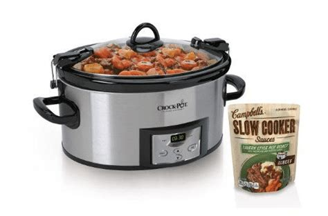 Win A Programmable Crock Pot Cooker by Giveaway Enter To Win Crock Pot Cbell S