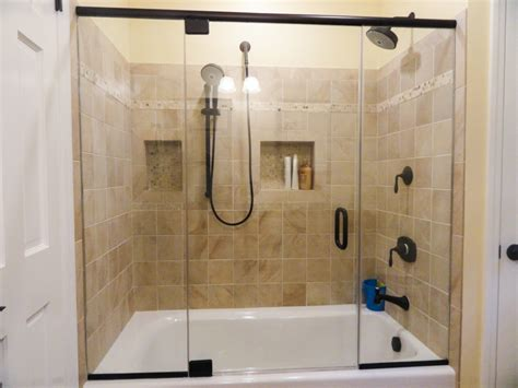 Glass Door Tub Bathtub Glass Doors Frameless Shower Doors Glass Pool Fencing Glass With Modern Style Glass