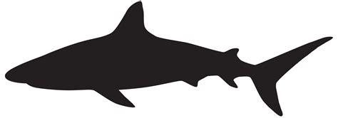 free clipart silhouette shark silhouette clipart best