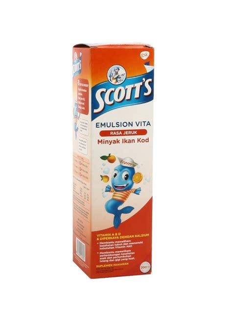 Minyak Ikan S Emulsion by Scotts Emulsion Minyak Ikan Vita Orange Btl 200ml
