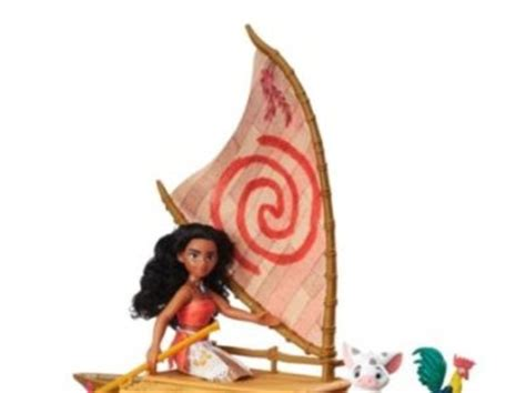 moana figures with boat moana boat with figures for sale in blanchardstown dublin