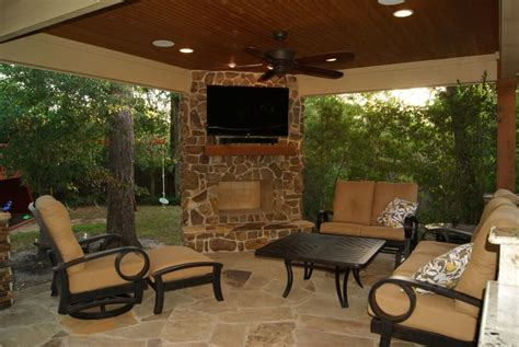 houston outdoor fireplace project fireplaces houston freestanding patio cover with kitchen fireplace in the