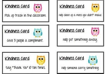 kindness card template 34 best images about kindness rocks preschool ideas on