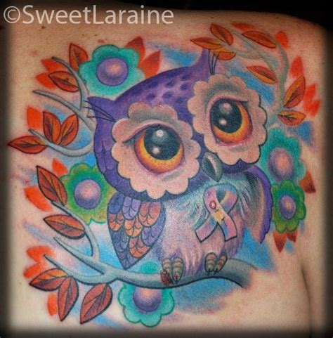 new school ribbon tattoo 40 best images about owls tattoos on pinterest colorful