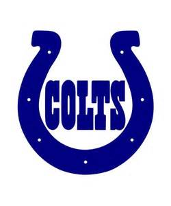 indianapolis colts colors 2pack indianapolis colts horseshoe decal 15 color by