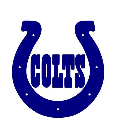 colts colors 2pack indianapolis colts horseshoe decal 15 color by
