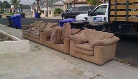 couch disposal three item junk removal for 99 in san diego fred s junk