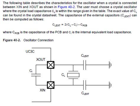 capacitor value for oscillator avr mcu capacitor selection electrical engineering stack exchange