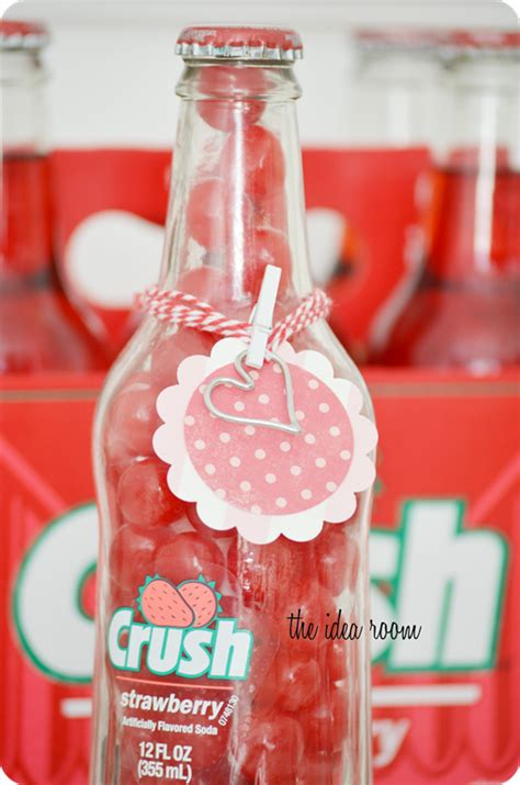 valentines gifts for your secret crush valentines crush bottles