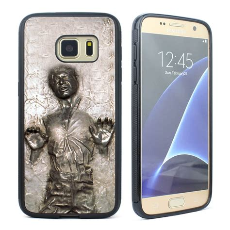 wars han in carbonite soft cover for samsung galaxy s5 s6 s7 edge ebay