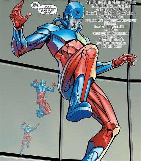 young justice atom ray palmer google search personajes comic dc comics  comics