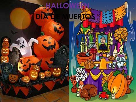 imagenes halloween y dia de muertos historieta dia de muertos y halloween