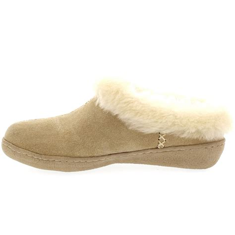 sheepskin lined slippers womens genuine suede australian sheepskin fur lined warm