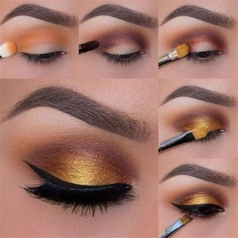 tutorial makeup tunang simple 14 easy eyeshadow tutorials for perfect eyes easy