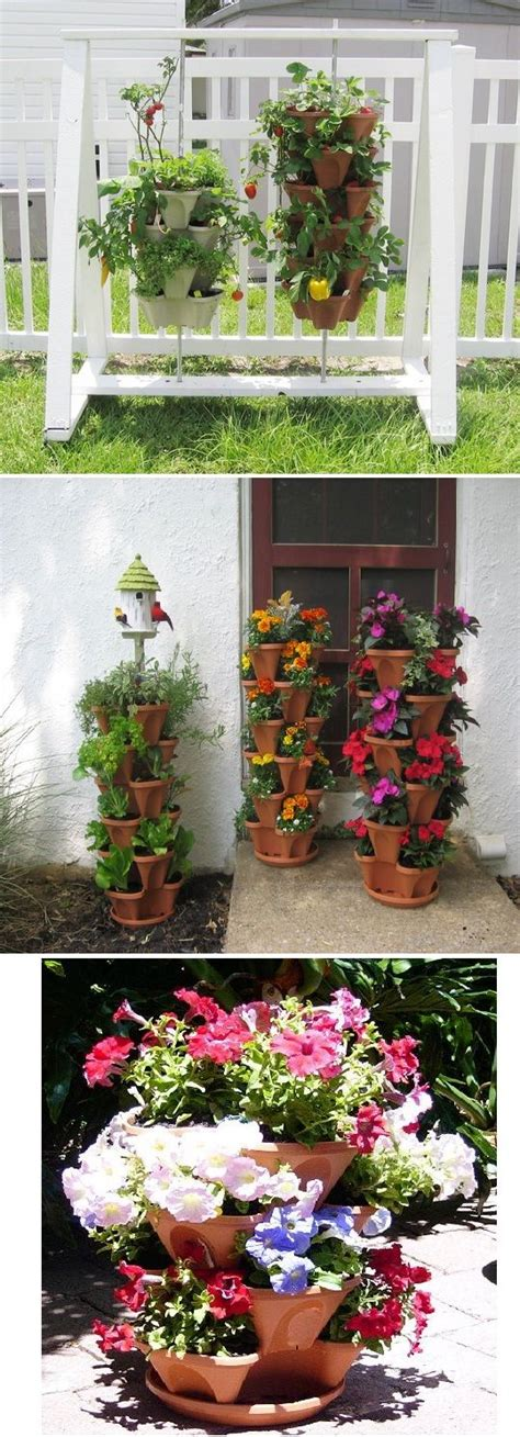 nancy janes stacking planters with patented container