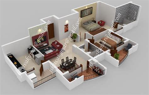 3d Designer Architect Interior Exterior 3ds Max Maya House Plans With 3d Interior Images