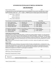 personal information release form template doc 600730 release of personal information form
