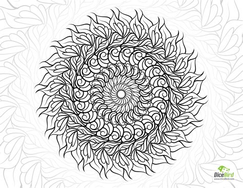 coloring book stress relieving designs animals mandalas flowers paisley patterns and so much more books tourbillon mandala coloring pages to print