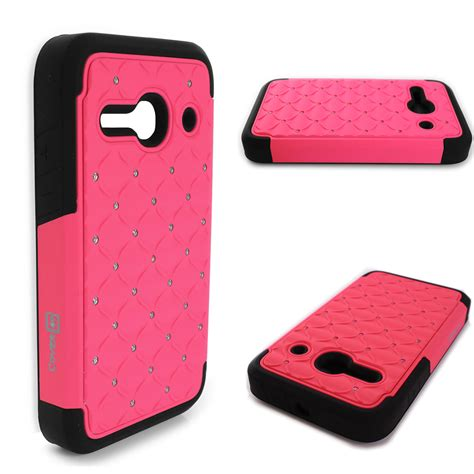 Softcase Alcatel One Plus One Limited bling phone cover hybrid for alcatel one touch evolve 2 ebay