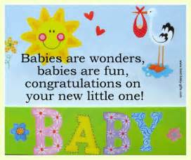 baby congratulations cards sle sentences for new baby wishes