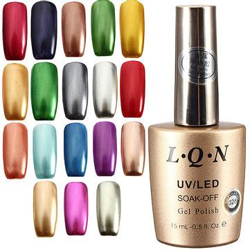 Uv Paint Kuning 15 Ml 18 colors 15ml soak metallic metal nail uv gel