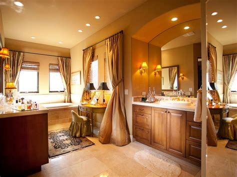 bathroom designs with dressing area makeup vanity dressing table bathroom ideas designs hgtv