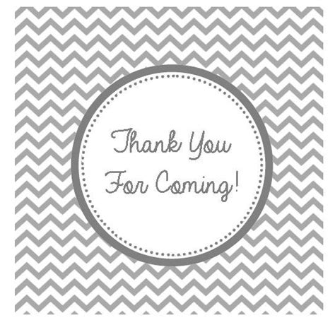 A Way To Say Thank You Vip Events And Weddings Thank You For Coming Tags Template
