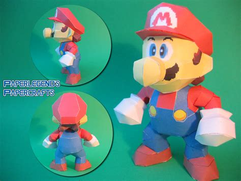 mario crafts for paperlegend s papercrafts mario 64 mario