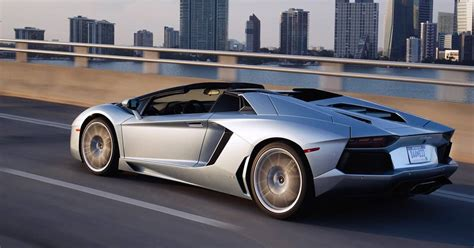 Lamborghini Aventador Roadster   Pictures, Videos