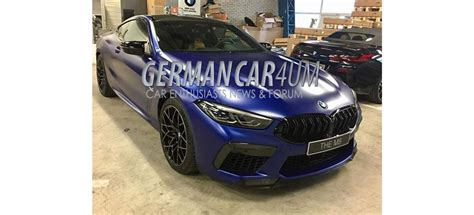 2019 Bmw Forum by 2019 Bmw M8 Competition Images Leaked On Forum