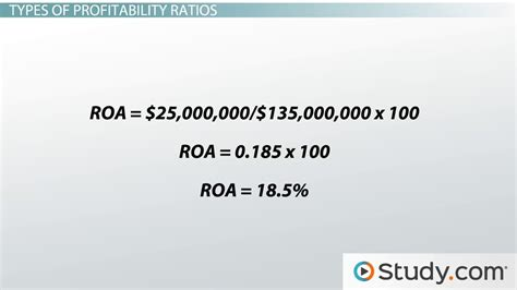 Education On A Resume Example by Profitability Ratio Definition Formula Analysis