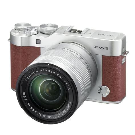 Fujifilm X A3 Xa 3 Fuji Xa3 Kit 16 50mm Ois Ii Camel Caramel Karamel fuji xa3 fuji x a3 sensor ใหม ความละเอ ยด 24 1 megapixel