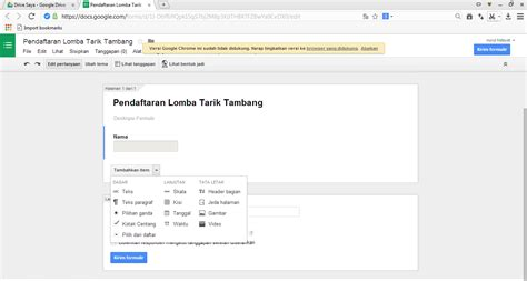 tutorial google form 2015 tutorial membuat formulir di google drive creative