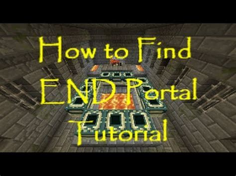 100 how do i find how to find the end portal tutorial 100 works very