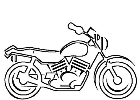Coloring Pages Motorcycle free printable motorcycle coloring pages for