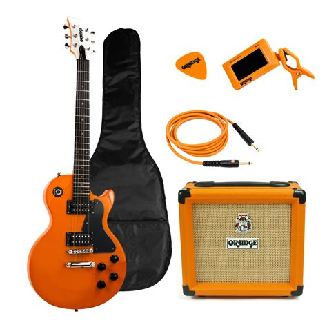 Orange Guitar Lifier Crush 12 orange crush pix cr12l gitaar en versterker starter pakket