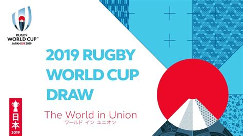 official rugby world cup  pool draw youtube