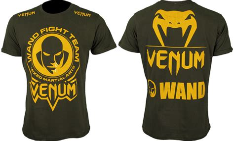 Venum Fight Team Shirt Black venum wand fight team shirt