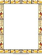 ancient egypt printable writing paper free printable egyptian design stationery