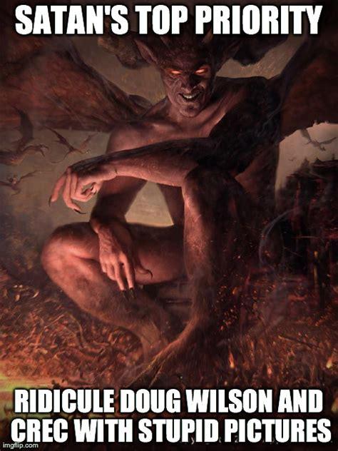 Satan Meme - satan s top priority crec memes