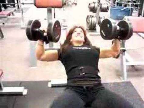 60 lb dumbbell bench press janet incline pressing 60 lb dumbbells vidoemo