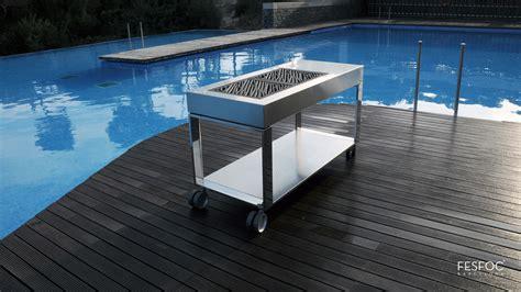 Stainless Steel Islands Kitchen barbecue de luxe tacora elegance