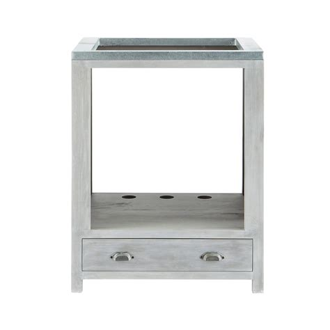 Merveilleux Meuble Bas Plaque De Cuisson #5: meuble-bas-de-cuisine-pour-four-en-bois-d-acacia-gris-l-66-cm-zinc-1000-11-28-140822_3.jpg