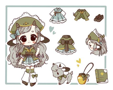 Set Chibi Cc 1090 best ropa anime images on to draw character design and anime