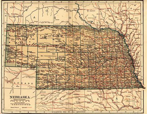 usa map nebraska nebraska map