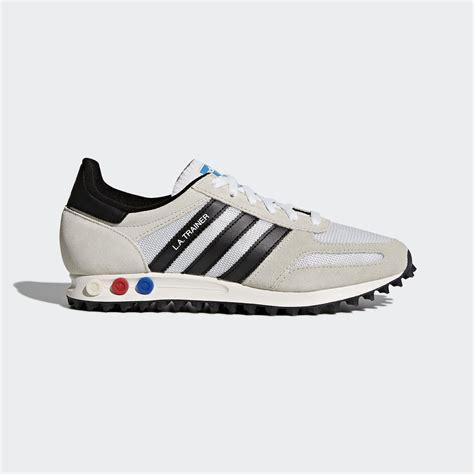 adidas uk adidas la trainer og shoes white adidas uk